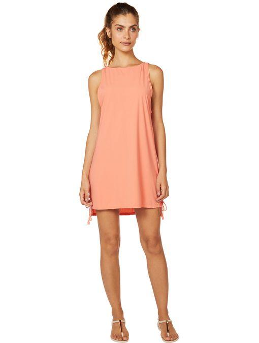 vestido-curto-laranja-liso-6135