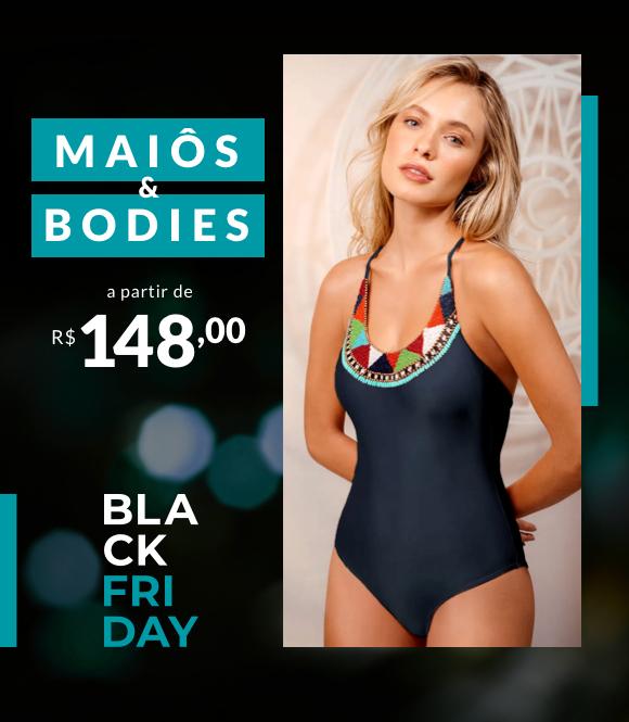 Banner Maiô e Bodies